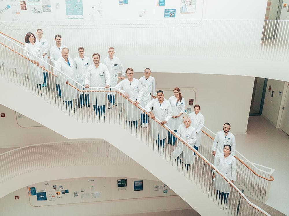 Das Team der Interventionellen Radiologie